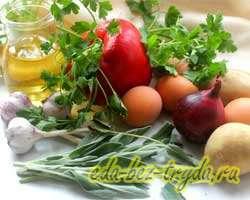 как приготовить Фриттата с овощами