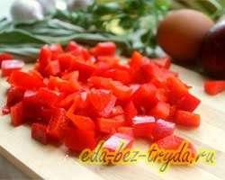 Фриттата с овощами 2 шаг