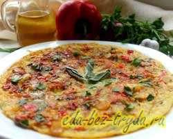 Фриттата с овощами 9 шаг