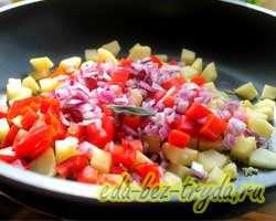 Фриттата с овощами 4 шаг