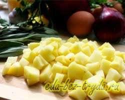 Фриттата с овощами 1 шаг