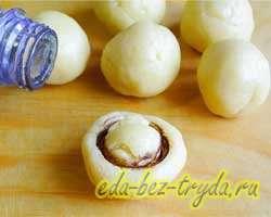 Печенье грибочки 8 шаг