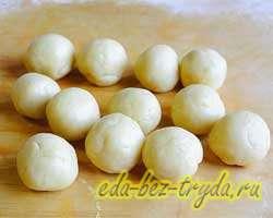 Печенье грибочки 5 шаг