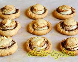 Печенье грибочки 9 шаг