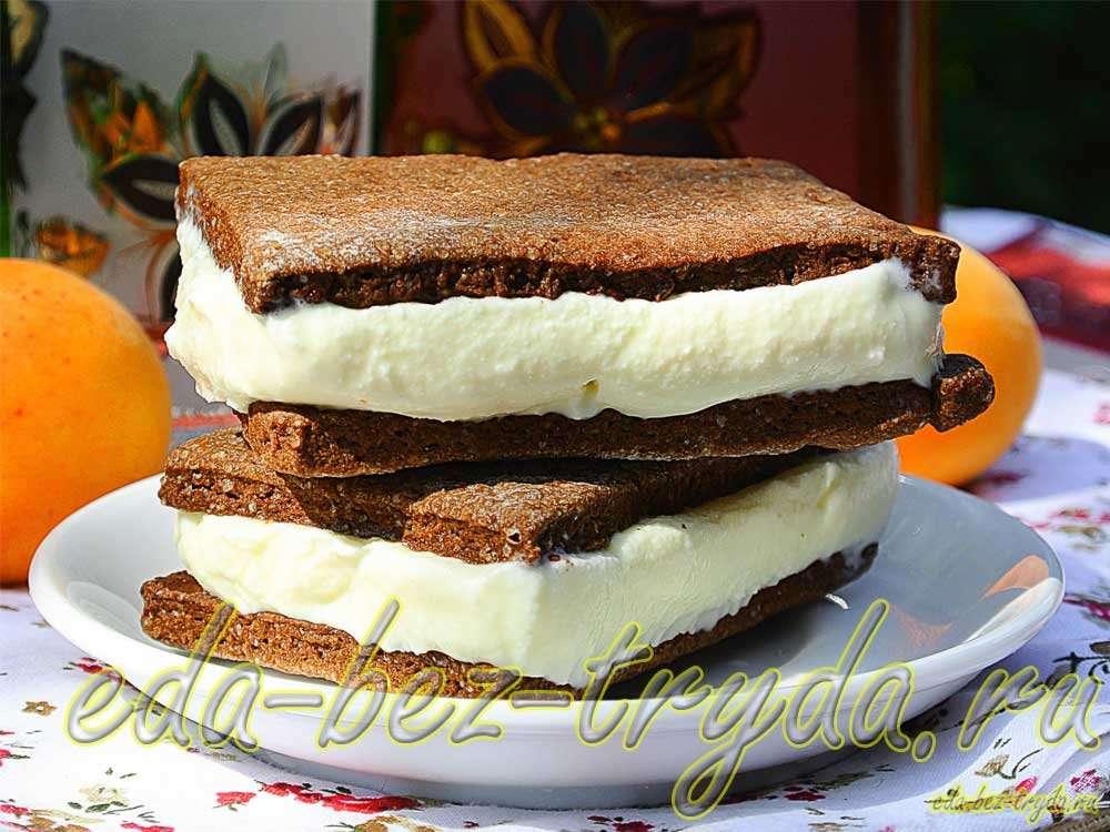 Сметанное мороженое рецепт с фото