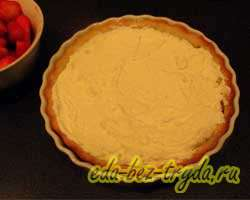 Пирог с клубникой и творогом 8 шаг