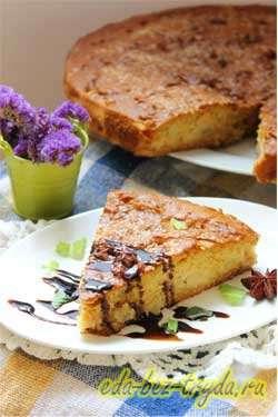 Яблочный пирог с медом 9 шаг