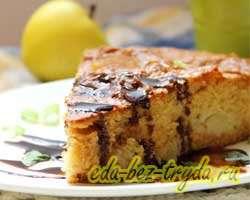 как приготовить Яблочный пирог с медом