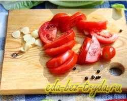 Куриные отбивные с помидорами 6 шаг