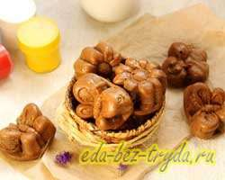 как приготовить Шоколадные бисквиты