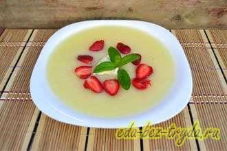 Суп-пюре из дыни
