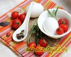 как приготовить Омлет в духовке с помидорами