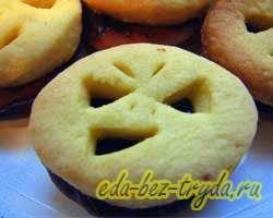 Печенье на Хэллоуин 13 шаг