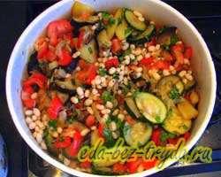 Фасоль с овощами 11 шаг