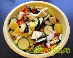 Фасоль с овощами 6 шаг