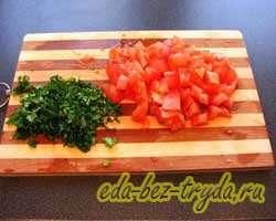 Фасоль с овощами 9 шаг