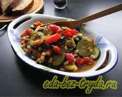 Фасоль с овощами 12 шаг