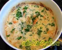 Паста с морепродуктами в сливочном соусе 8 шаг