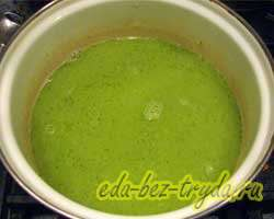 Суп-пюре из брокколи 4 шаг