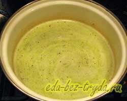 Суп-пюре из брокколи 5 шаг