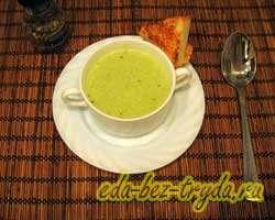 Суп-пюре из брокколи 6 шаг