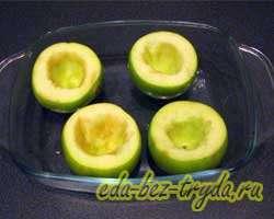 Запеченные яблоки в духовке 1 шаг
