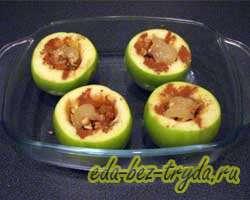 Запеченные яблоки в духовке 2 шаг