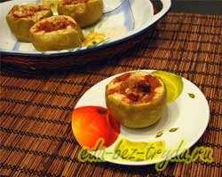 Запеченные яблоки в духовке 4 шаг