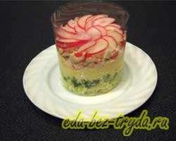 Салат с крабовыми палочками и овощами 6 шаг