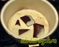 Шоколадная глазурь 10 шаг