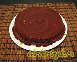 Шоколадный торт 15 шаг
