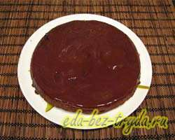 Шоколадный торт 13 шаг