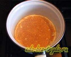 Горячий шоколад с апельсином 2 шаг