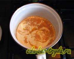 Горячий шоколад с апельсином 4 шаг