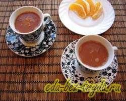 Горячий шоколад с апельсином 7 шаг
