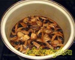 Суп пюре из шампиньонов 5 шаг