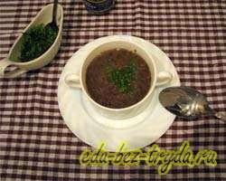 Суп пюре из шампиньонов 8 шаг