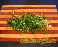 Охотничий салат 4 шаг