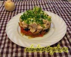 Охотничий салат 8 шаг