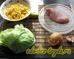 как приготовить Макароны с капустой