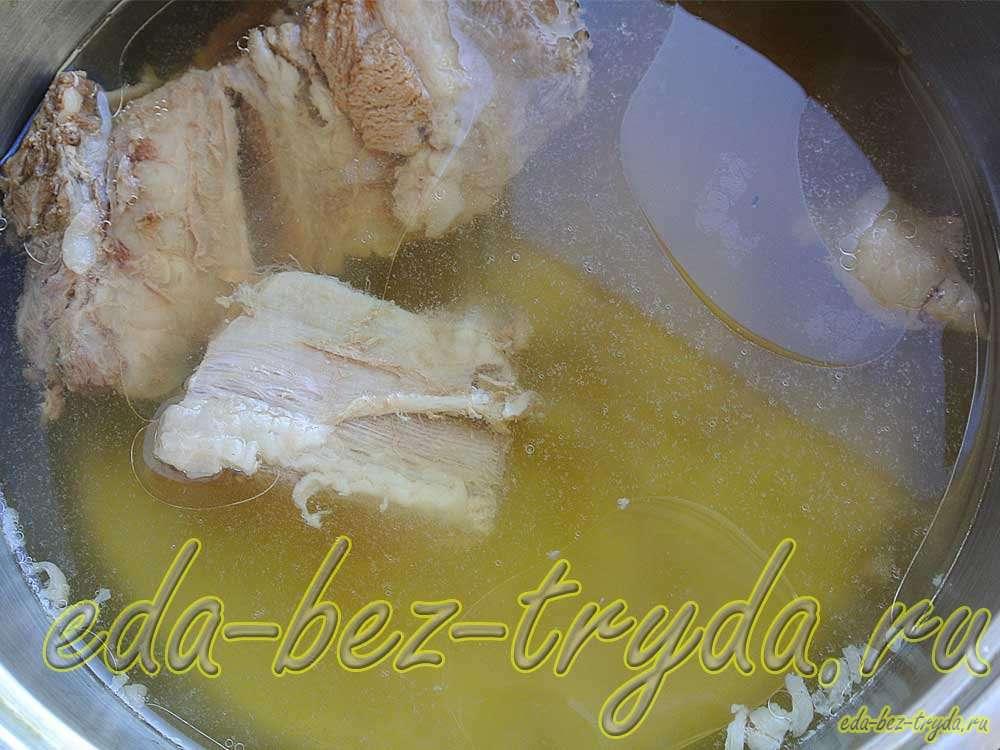 Мясной бульон. Как осветлить мясной бульон. рецепт с фото