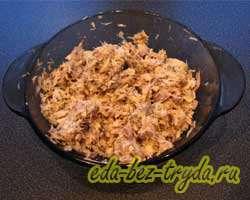 Салат Мимоза классический рецепт с фото 2 шаг