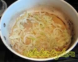 Тушеная картошка с капустой и грибами 5 шаг