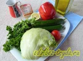 как приготовить Весенний салат