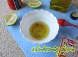Весенний салат 6 шаг
