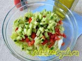 Весенний салат 4 шаг