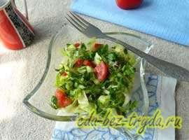 Весенний салат 7 шаг