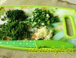 Зеленый борщ со щавелем 5 шаг