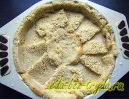 Шарлотка из белого хлеба 13 шаг