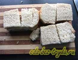 Шарлотка из белого хлеба 7 шаг